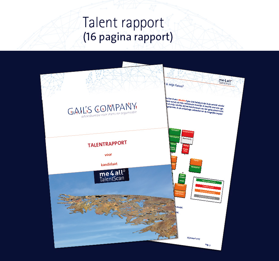 me4all® Talent rapport