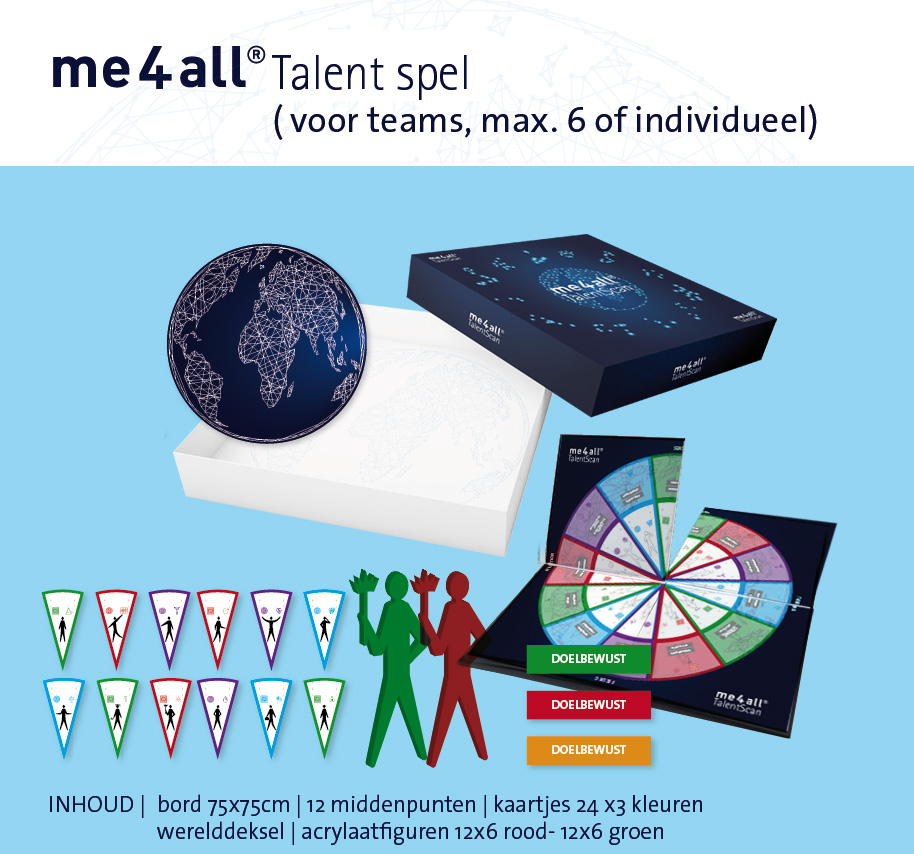 me4all® Talent spel